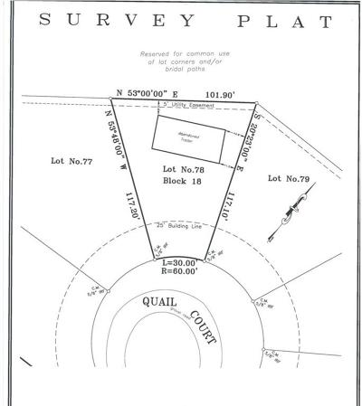 Pelican Bay Residential Lots & Land For Sale: 1421 Quail Court
