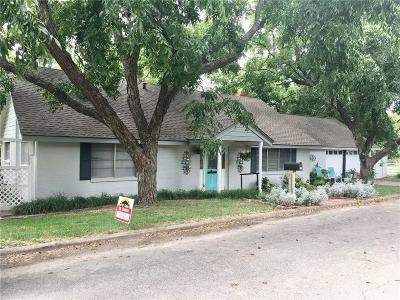 Comanche Single Family Home For Sale: 804 Tanglewood Avenue