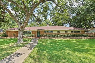 Dallas Single Family Home For Sale: 1408 Bar Harbor Circle