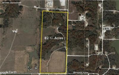 Grayson County Farm & Ranch For Sale: 82 Ac Bennett Lane