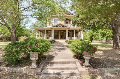 Weatherford Single Family Home For Sale: 814 S Waco Street