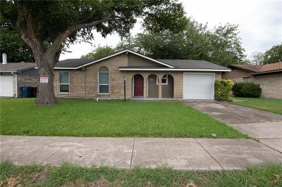 Garland Single Family Home For Sale: 4705 Miami Drive