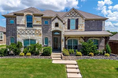 Rockwall Single Family Home Active Option Contract: 672 Princeton Way