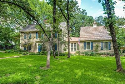 Colleyville Single Family Home Active Option Contract: 3609 San Bar Lane
