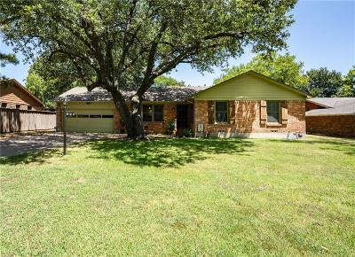 Terrell Single Family Home Active Option Contract: 806 Eulalia Drive