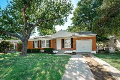 Irving Single Family Home For Sale: 1525 Mayflower Drive