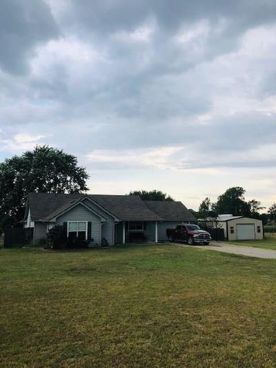 Archer County, Baylor County, Clay County, Jack County, Throckmorton County, Wichita County, Wise County Single Family Home Active Option Contract: 3779 S Fm 51