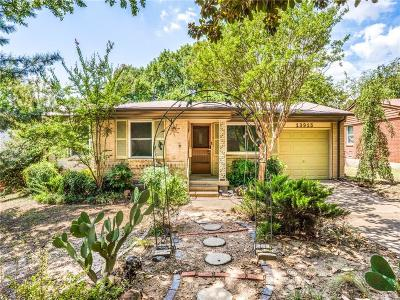 Farmers Branch Single Family Home Active Option Contract: 13915 Montvale Drive
