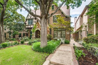 Dallas County Single Family Home For Sale: 3448 Shenandoah Street