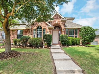 McKinney Single Family Home Active Option Contract: 6508 Brownstone Drive