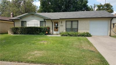 Irving Single Family Home For Sale: 2017 Black Jack Drive