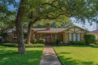 Arlington Single Family Home Active Option Contract: 4706 Hillside Drive