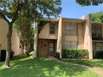 Garland Townhouse For Sale: 518 Valley Park Drive