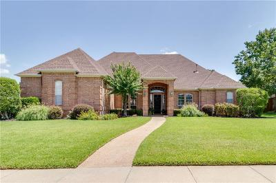 Keller Single Family Home Active Option Contract: 1009 Hardwick Trail
