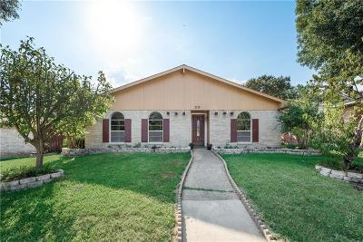 Carrollton Single Family Home For Sale: 3113 Furneaux Lane