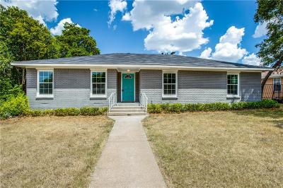 Oak Cliff Single Family Home For Sale: 3320 Boulder Drive