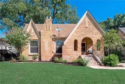 Dallas County Single Family Home For Sale: 1419 Lansford Avenue