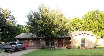 Weatherford Single Family Home Active Option Contract: 114 Sherry Court