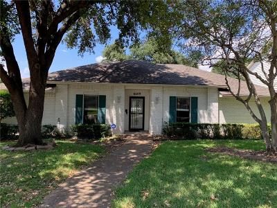 Dallas Single Family Home Active Option Contract: 6609 Warm Breeze Lane