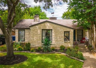 Dallas Single Family Home For Sale: 2521 Sunset Avenue