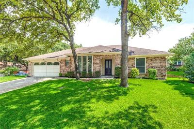 Bedford Single Family Home Active Option Contract: 2904 Live Oak Lane