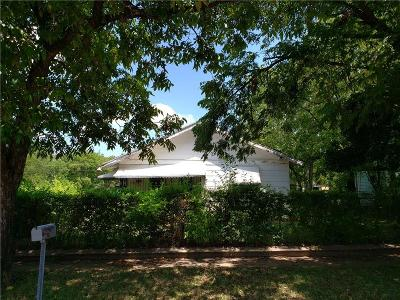 Fort Worth Single Family Home Active Option Contract: 2801 Avenue I