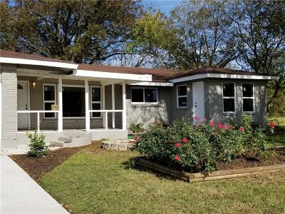 Richland Hills Residential Lease For Lease: 6809 Lavon Drive