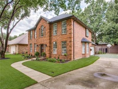 Grapevine Single Family Home Active Option Contract: 613 Turtledove Lane