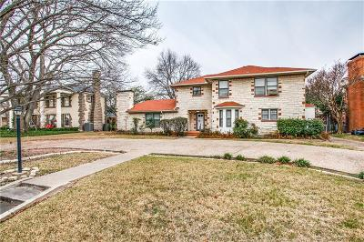Dallas Single Family Home For Sale: 7730 Southwestern Boulevard