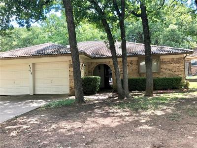 Arlington Single Family Home Active Option Contract: 4219 W Pleasant Forest Street