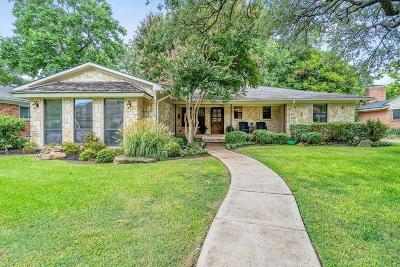 Dallas Single Family Home For Sale: 3527 Ainsworth Drive