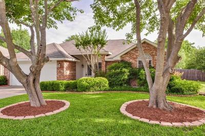Waxahachie Single Family Home Active Option Contract: 121 Driftwood Lane