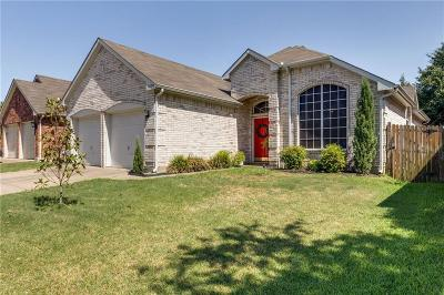 Flower Mound Single Family Home Active Option Contract: 2120 Mahogany Street