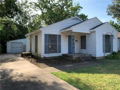 Dallas Single Family Home For Sale: 1434 Holcomb Road