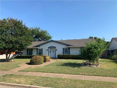 Richardson Single Family Home Active Option Contract: 640 Westover Drive