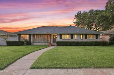 Dallas Single Family Home For Sale: 9831 Crestwick Drive