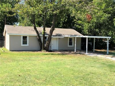 White Settlement Single Family Home Active Option Contract: 8413 Sussex Street