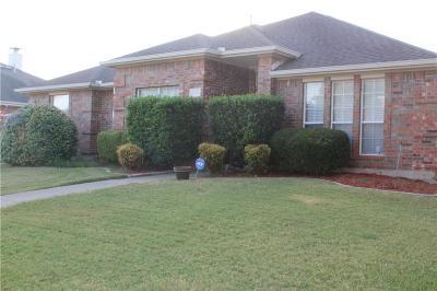 Mesquite Single Family Home For Sale: 2805 Daniel Creek