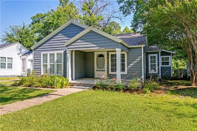 Wylie Single Family Home Active Option Contract: 307 Masters Avenue