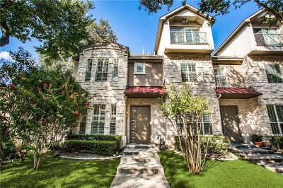 Dallas County Townhouse For Sale: 4140 N Hall Street