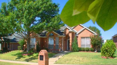 Carrollton Single Family Home For Sale: 4041 Brazos Drive