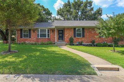 Dallas, Addison Single Family Home For Sale: 7007 Wakefield Street