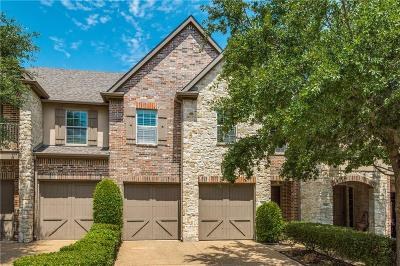 Dallas County, Denton County, Collin County, Cooke County, Grayson County, Jack County, Johnson County, Palo Pinto County, Parker County, Tarrant County, Wise County Townhouse For Sale: 5470 Keswick Drive