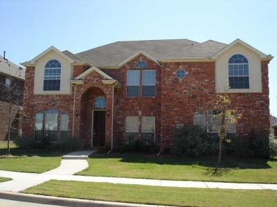 Frisco Residential Lease For Lease: 11467 Jasper Drive