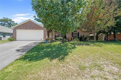 Lindale Single Family Home Active Option Contract: 401 Asher