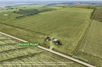 Denton County Farm & Ranch For Sale: Tbd Berend Road