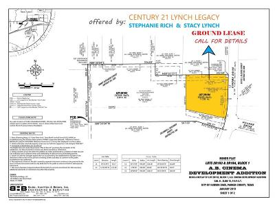 Parker County Commercial Lots & Land For Sale: Block 1 Cinema Drive