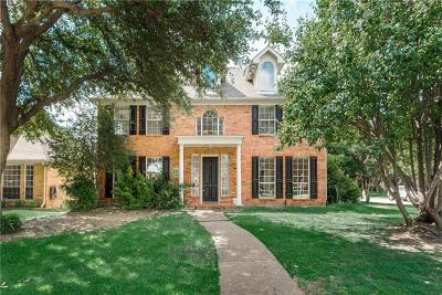 Plano Single Family Home Active Option Contract: 1436 Honey Locust Drive