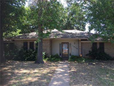 Young County Single Family Home Active Option Contract: 1414 Thomas Lane