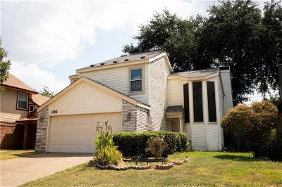 Irving Single Family Home For Sale: 1116 Carrington Court